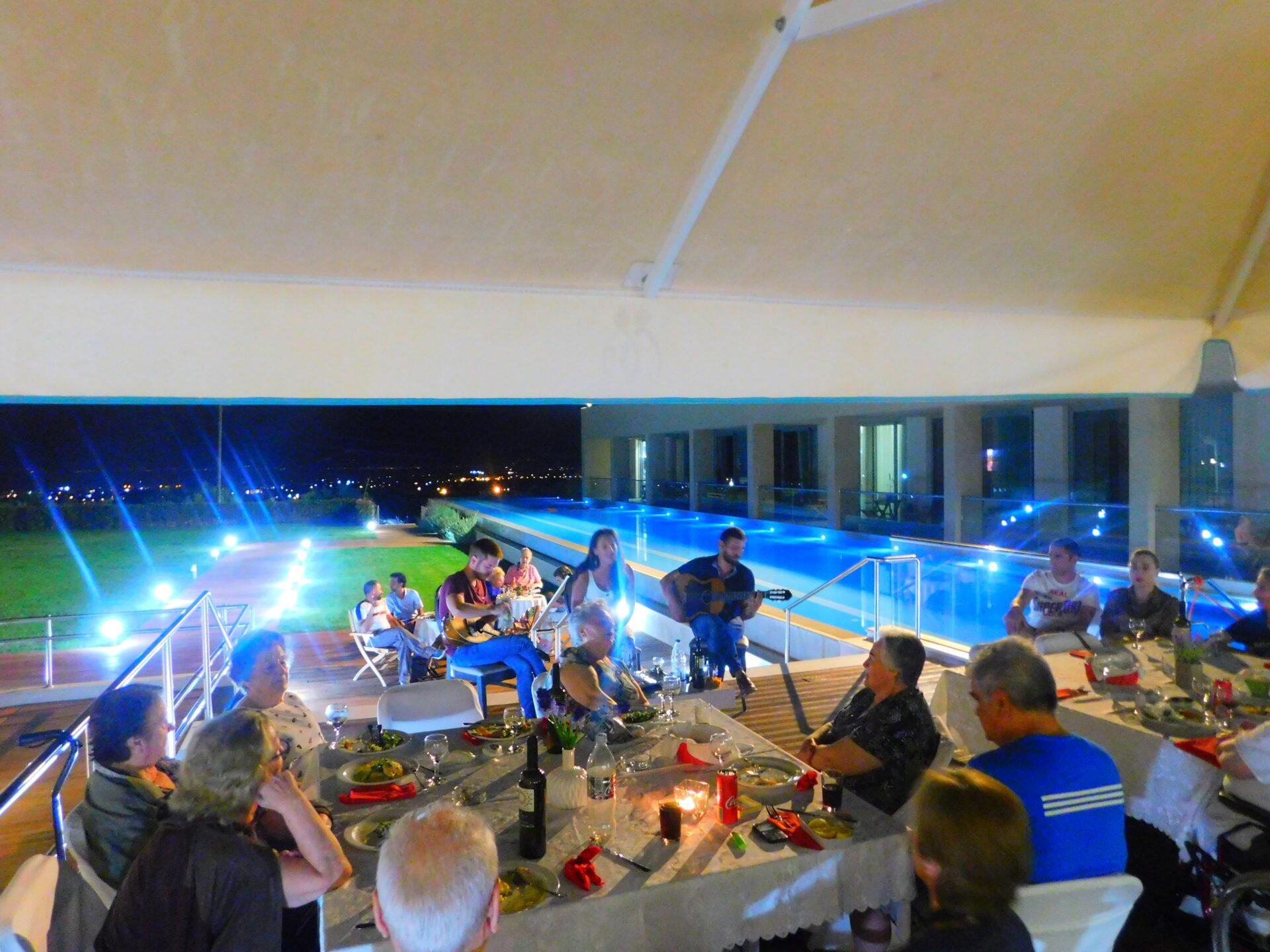Μουσική βραδιά στο Papadopoulion