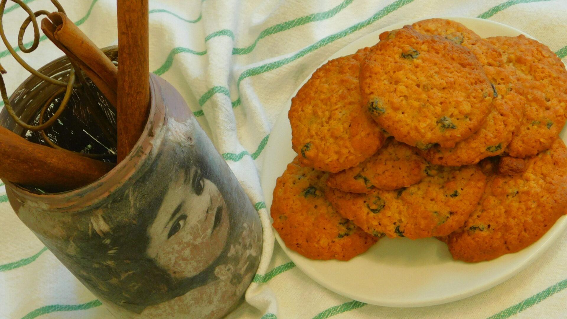 μπισκότα βρώμης με συνταγή του σεφ μας στην μοναδα φροντιδας ηλικιωμένων Παπαδοπούλειον
